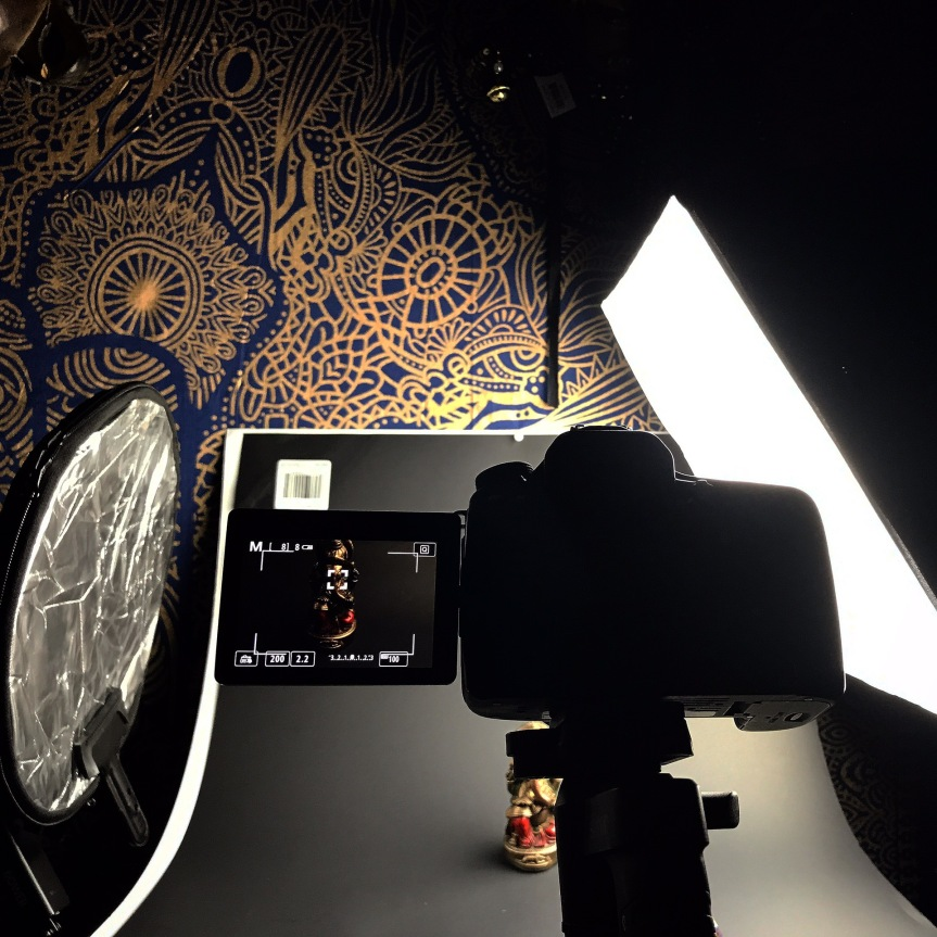 Product photography: DIY setup