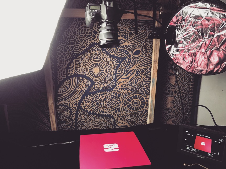 DIY – product photography – overheadview