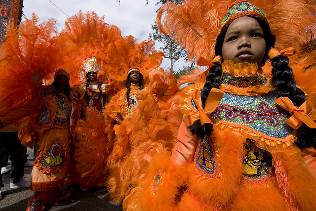 New Orleans – Super Sunday – Mardi Gras Indians – Part One
