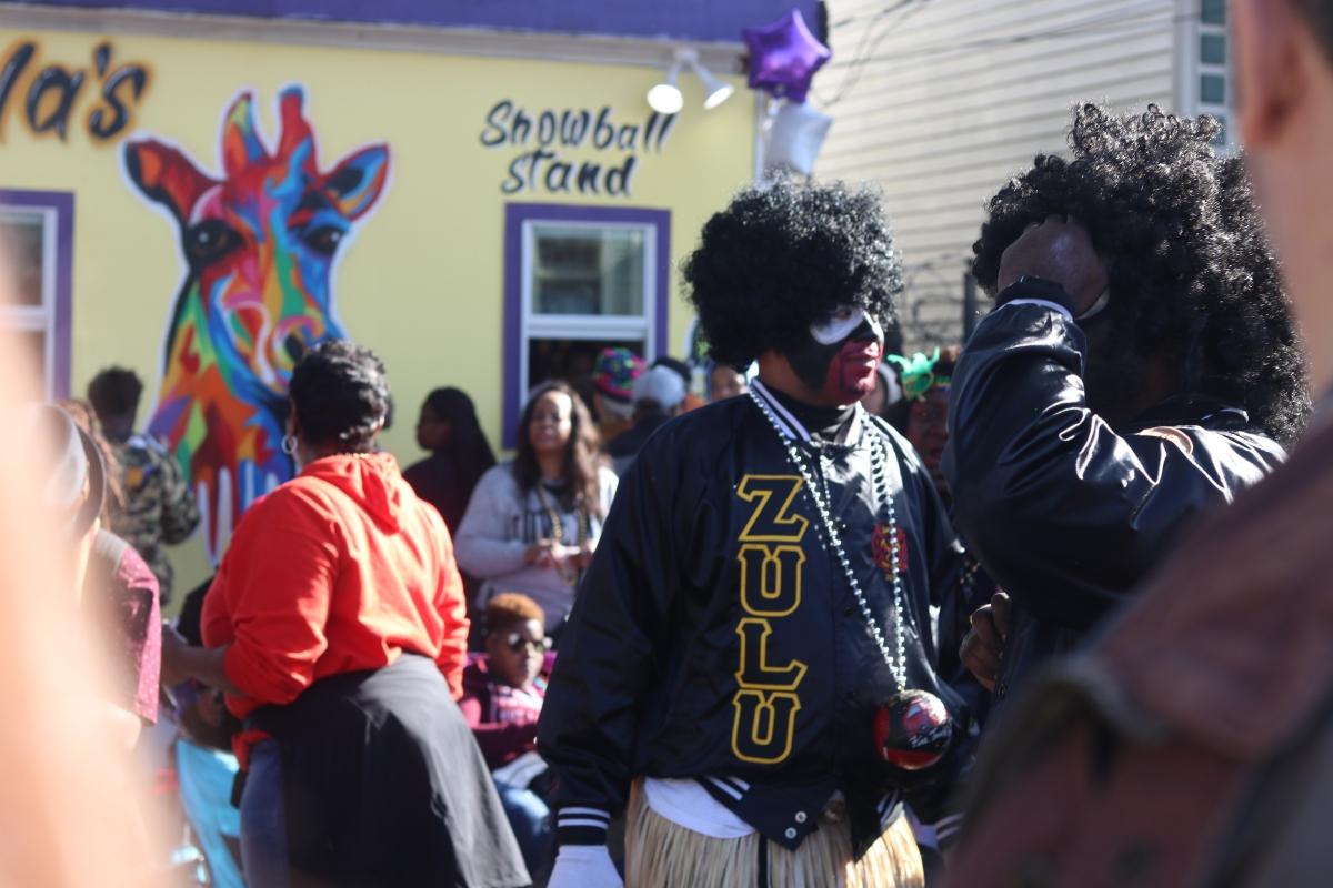 New Orleans - ZULU PARADE 2018 - Mardi Gras