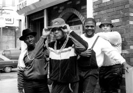 LL Cool J, with Cut Creator, E Love and B-Rock , Manhattan 1987