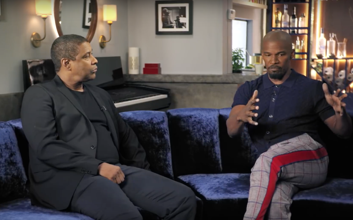 Jamie Foxx Interviews Denzel Washington || OFF SCRIPT