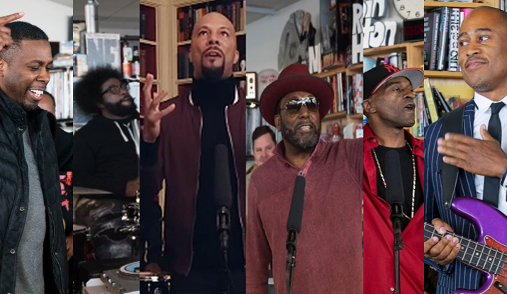 HIP-HOP LEGENDS : NPR Music Tiny Desk Concert