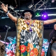 George Clinton of George Clinton and Parliament Funkadelic performs at the Okeechobee Music and Arts Festival on Saturday, March 4, 2017, in Okeechobee, Fla. (Photo by Amy Harris/Invision/AP)