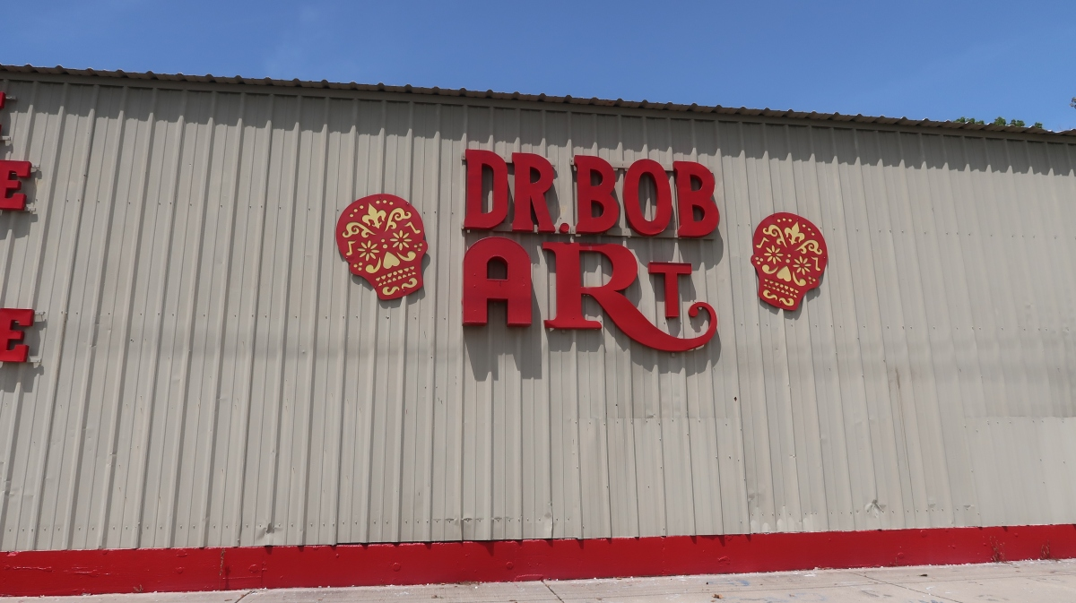 Dr. Bob's Bywater Art Studio Louisiana