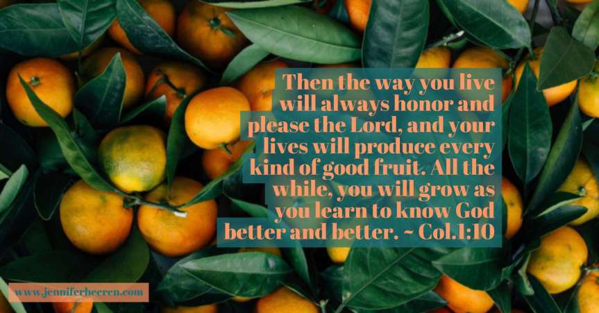 Let your love for God give you a fruitful life. Inspiration video.